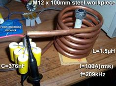 Induction Heating A great method to heat ferrous objects very quickly...