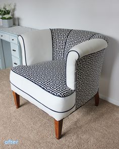 This chair is just right! Check out this chair makeover at betterafter.net