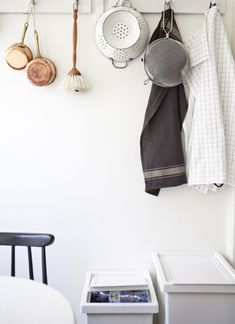 Use hooks to hang kitchenware and keep your daily essentials within easy reach #IKEAIDEAS