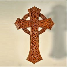 Cross Collection Archives - Celtic, Viking and Lamp Woodcraft Carvings Wood Carving Patterns, Carving Designs, Celtic Designs, Cross Designs, Wedding Cross, Wooden Crosses, Viking Symbols, Leather Carving, Wood Sculpture