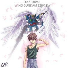 Gundam Wing, Wings, Anime, Art, Art Background, Kunst, Cartoon Movies, Anime Music, Performing Arts