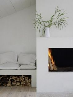Bench / wood storage ~ original concept