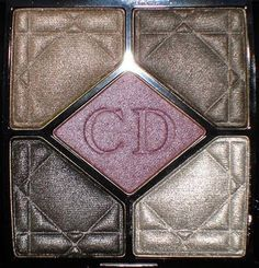 Dior Holiday Smoky Crystal Quint + Silver Purple Nail Polish - The Beauty Look Book New Eyeshadow Palettes, Purple Nail Polish, Dior Makeup, Cool Tones, Beauty Make Up, Hair And Nails, Counting, Swatch, Girly