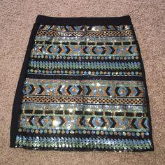 Small sequin skirt Small rue 21 sequin body con skirt Skirts Mini
