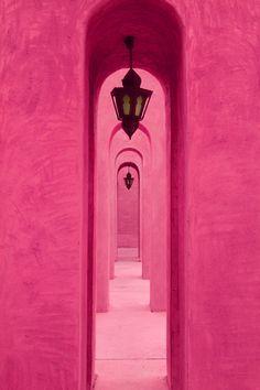 Pink arches - Dubaï