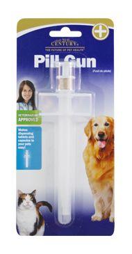 Pill Gun- 21st Century Pet Health $7.99 http://www.21stcenturypet.com/product-dog.asp?i=1072=10