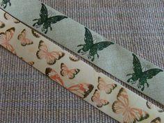 Butterflies Peel and Stick Trim Wide  BOGO by stampinkscrap, $1.50