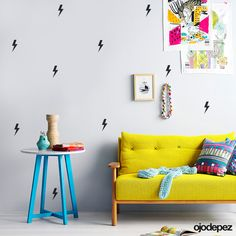 Vinilo decorativo Pack 031: Trama de rayos. Vinilos decorativos Vinilos adhesivos Wall Art Stickers wall stickers