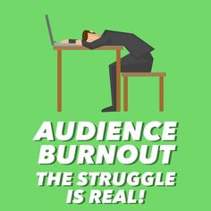 Keeping your audience engaged is a real challenge. Check out these tips to fight audience fatigue.