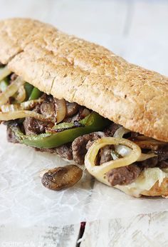 Classic Pepper Jack Philly Cheesesteaks