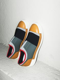 Vic Matie Fable Neoprene Sneaker at Free People Clothing Boutique