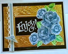 Card by Laura Turner using Altenew Vintage Roses