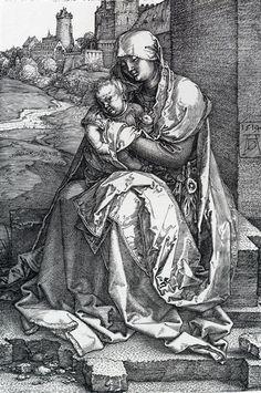 Albrecht Dürer Madonna By The Wall 1514