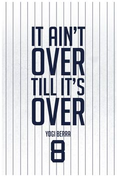 ''Yogi Berra Quote on Print. See more at www.finesportsprints.com #berra #sportsquote #yankees''