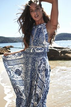 89768ec7b0 Endless Summer Bohemian Maxi Dress - perfect for your special event, brunch  or wedding guest