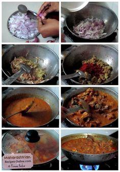how to make sukha chicken or maharashtrian chicken gravy