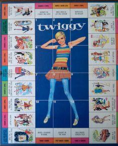Twiggy Board Game, 1967