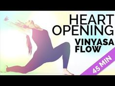 """Heart Opening Vinyasa Flow Yoga (expand for full description) Get my FREE """"Yoga For Abs"""" class: http://brettlarkin.com/ Join my community of 7,000 yogis at h..."""
