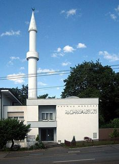 The Ahmadiyya mosque in Zurich (built in - Switzerland - Zurich, Middle East Culture, Pillars Of Islam, Europe Bucket List, Beautiful Mosques, World Religions, Islamic Architecture, Central Europe, Place Of Worship