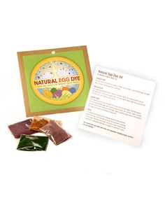 Natural Egg Dye Kit by Natural Earth Paints