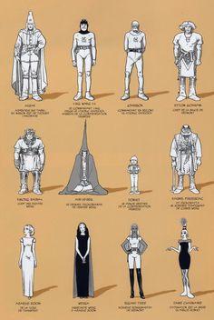 View topic - best fits from moebius Jean Giraud, Character Concept, Concept Art, Moebius Art, Moebius Comics, Manga, Jordi Bernet, Edward Gorey, Ligne Claire