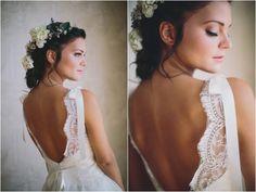 Alice Padrul Bridal Shoot by Codrean Photography #novia#peinado