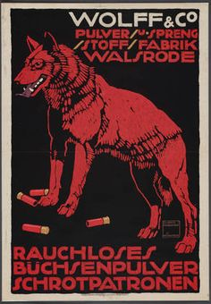 "Wolff & Co  Ludwig Hohlwein (German, 1874-1949)    Printer: G. Schuh & Cie, München. 1912. Lithograph, 35 5/16 x 24 1/4"" (89.7 x 61.6 cm)"