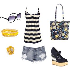 Summer time!, created by sarahnicole22 on Polyvore