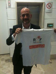 @GimboTognazzi GianMarco Tognazzi  tra gli amici di #RomaWebFest #rwf #rwf2013