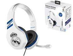 Real Madrid Auriculares gaming - accesorio gamer para PS4, PS4 Pro, Xbox One, PC Subsonic Playstation, Ps4, Beats Headphones, Over Ear Headphones, Real Madrid, Xbox One, Electronics, Ear Phones, Videogames