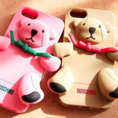 Photo by namrinn #moschino #gennarino #luisa #iphone #cover #case #pink