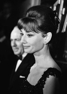 """Audrey Hepburn photographed by Elio Sorci at the premiere of her latest movie """"Breakfast at Tiffany's"""" at Cinema Fiammetta in Rome (Italy), on November 17, 1961."""