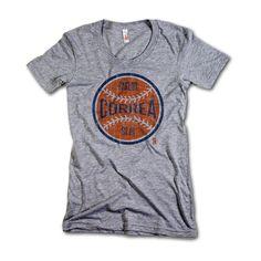 Carlos Correa MLBPA Officially Licensed Houston Womens Scoop Neck T-Shirt S-XL Carlos Correa Ball O