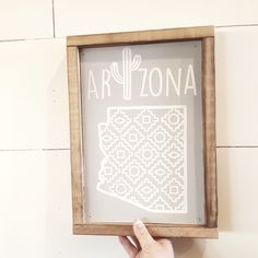 Love how this turned out. Arizona wood sign in shop!