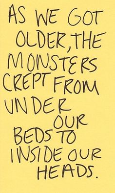 monsters in our heads
