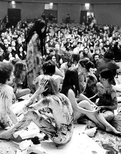 Yayoi Kusama Performance, New School for Social Research (1970), New York