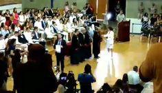 Χαιρετισμός με τους επίτιμους, πρόεδρο της Ιατρικής Σχολής ΑΠΘ, αντιπρυτάνιδα ΑΠΘ κοκ