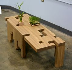 """""""Innovative coffee table furniture by Devin Rutz"""""""