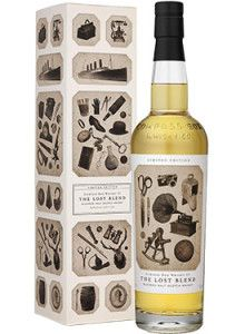 Compass Box The Lost Blend Malt #Scotch #Whisky.  Patterned after the first Compass Box whisky, only 12,018 bottles of this limited edition malt scotch whisky will ever be produced. | @Caskers