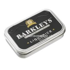 Barkleys liquorice mints these are supplied by Bitlong Boys. These come in a 6 count and are a small mental tin full of small tasty liquorice mints inside. These weigh appx These Barkleys liquorice mints are available wholesale and can be brought at Pontefract Cakes, Liquorice Sweets, Cupcake Mold, Ice Cake, Cupcakes, Vanilla Sugar, New Flavour, Quick Easy Meals, Chocolate Recipes