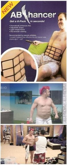 The truth about abs - finally revealed! lol