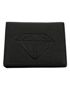 Diamond Supply Co.   Diamond ID Wallet (Black)   $40