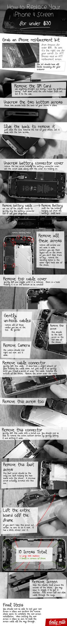 How to replace iPhone screen for under 30! I wish I knew this 3 phones ago!