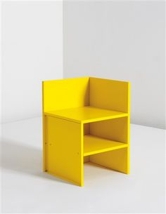 Donald Judd. Corner Chair #46, 1990