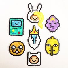 Adventure Time perler beads by pixelempire