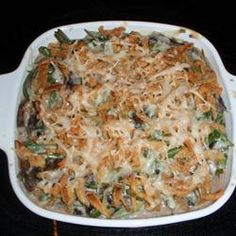 Absolutely Delicious Green Bean Casserole