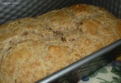 Bago de Romã: Pão Integral de Iogurte