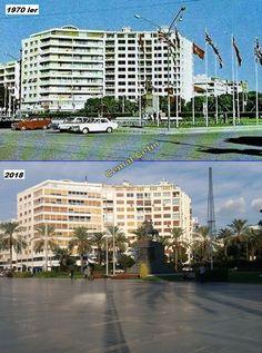 Cumhuriyet Meydanı.1970 ler. Visit Turkey, Marina Bay Sands, Multi Story Building, Poster, Travel, Viajes, Destinations, Traveling, Trips