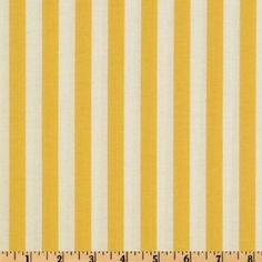 Amazon.com: 44'' Wide Taza Color Stripe Yellow Fabric By The Yard: Arts, Crafts & Sewing