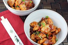 General Tso's Chicken : General Tso's Chicken is a Chinese delivery staple that always delights. This lightened-up version won't have you missing those paper containers.